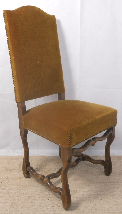 Upholstered Highback Hall Dining Chair : upholstered highback hall dining chair 5 2828 p from www.harrisonantiquefurniture.co.uk size 423 x 739 jpeg 142kB